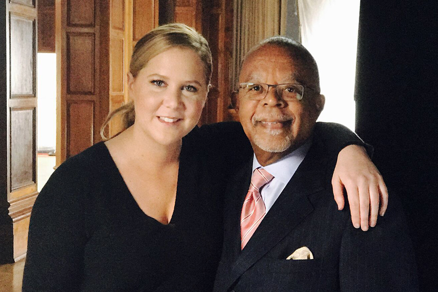 Amy Schumer and Henry Louis Gates Jr. Credit: Ark Media