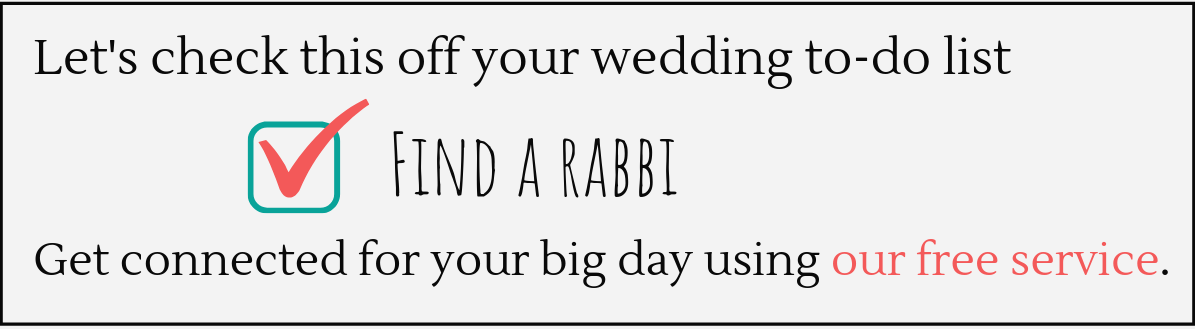 find a rabbi