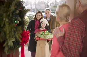 Grandparents at Christmas