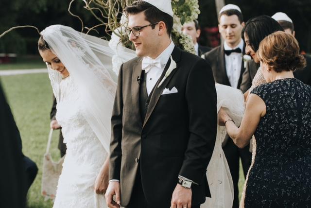 Jewish wedding - circling
