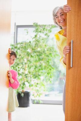 Welcome at the door