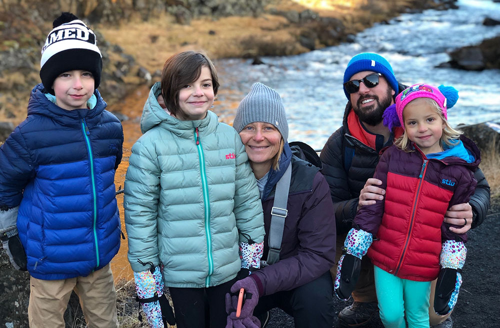 Emily Silberman's family