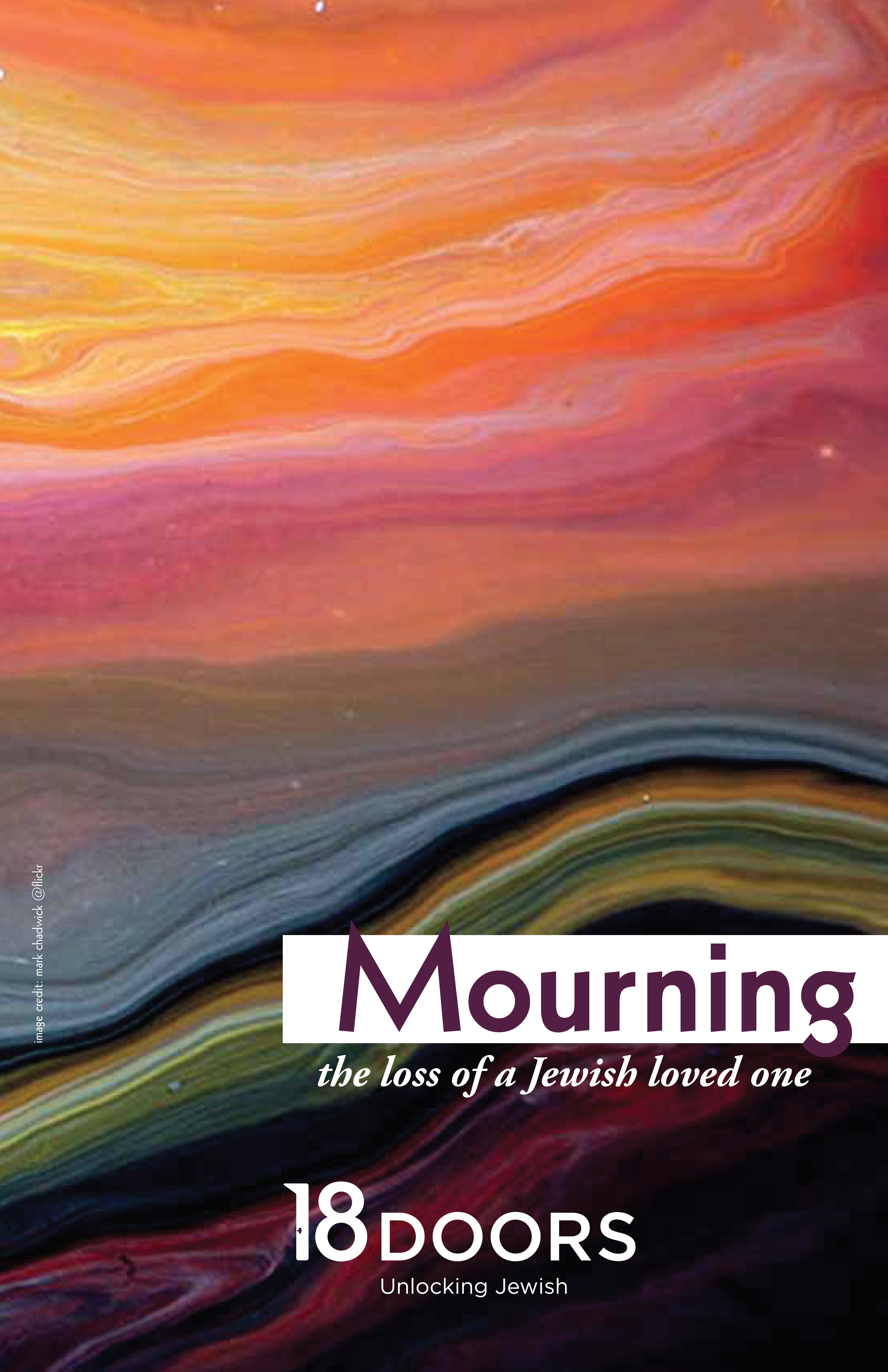 Mouring the loss of a Jewish loved one booklet