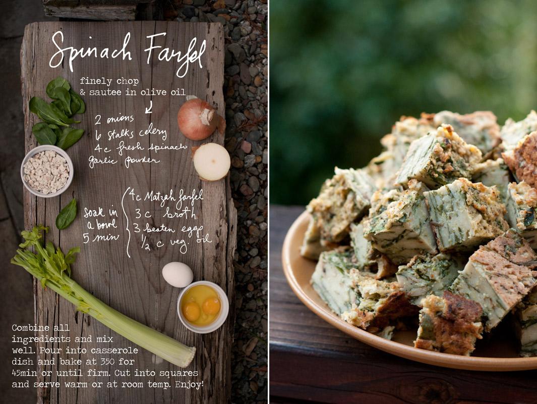 Passover farfel recipe