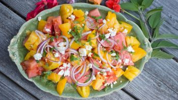 harissa watermelon salad