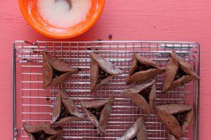 Chocolate Mint Hamentashen