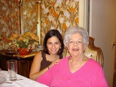 Rabbi Sarah Tasman with Grandma Zelda