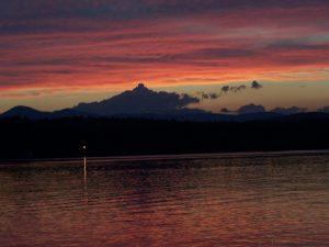 Sunset on Lake Kezar