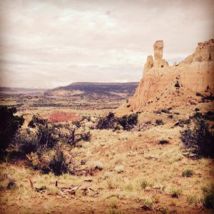 One of many breathtaking views from New Mexico