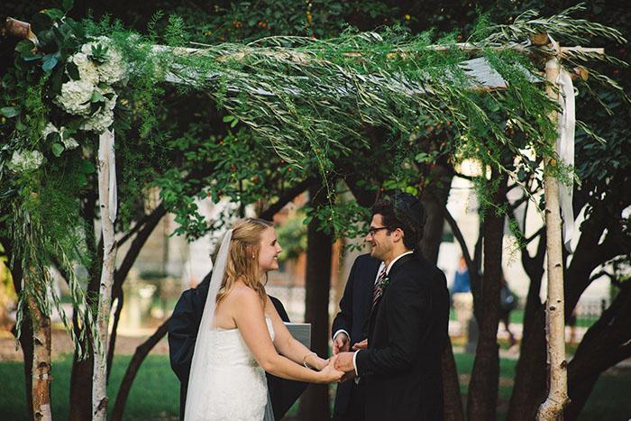 Emily and Brandon's ceremony