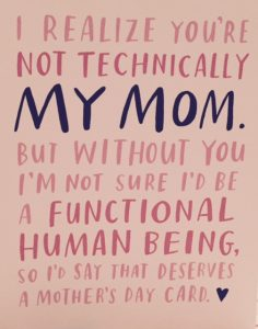 My favorite Mother's Day card of 2016