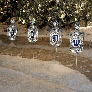 Hanukkah-lawn-markers