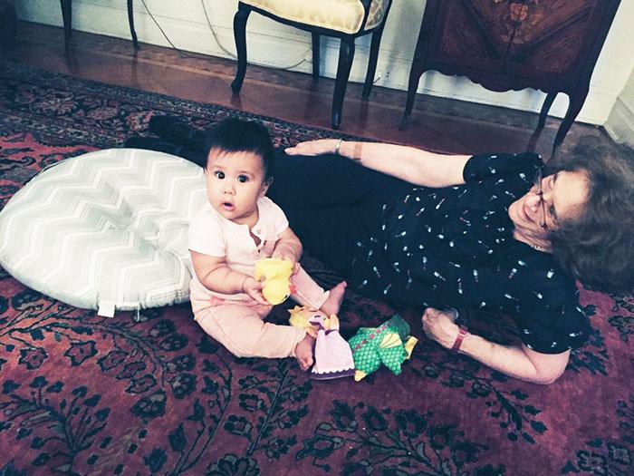 Helen and Grandma