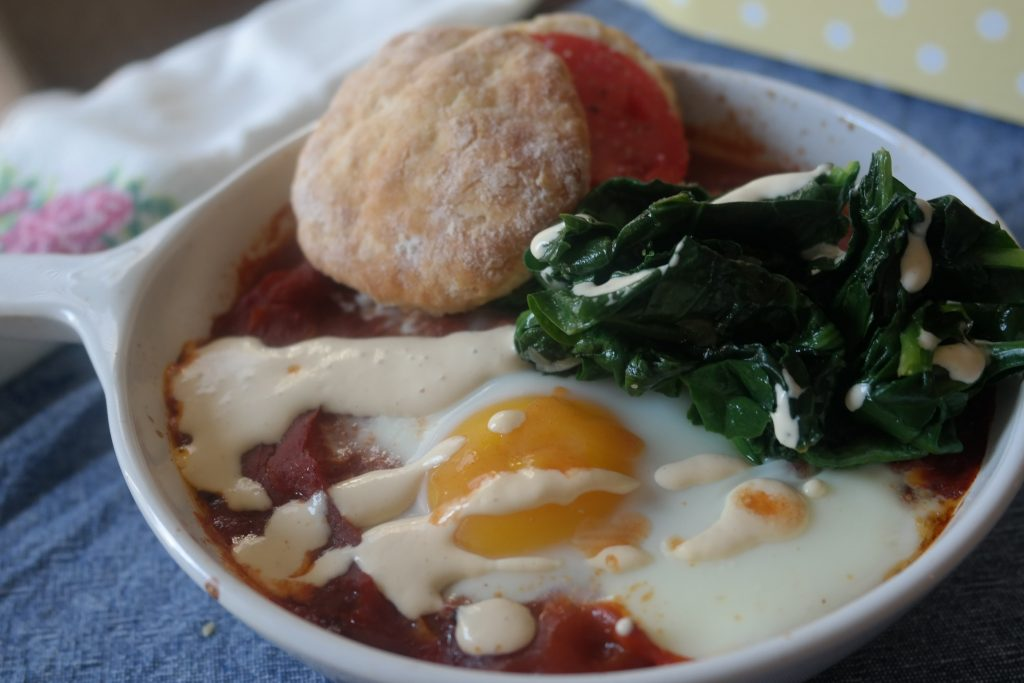 Shakshuka with a Southern Drawl