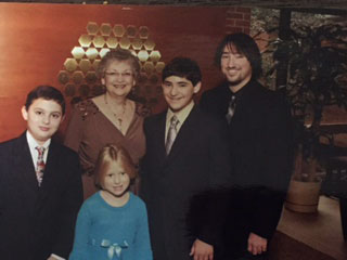Dottie's grandchildren