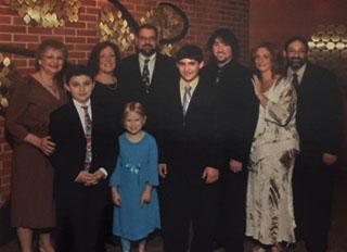 Dottie and grandchildren