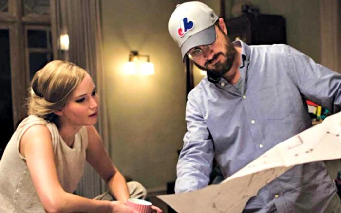 Jennifer Lawrence & Darren Aronofsky in Mother!