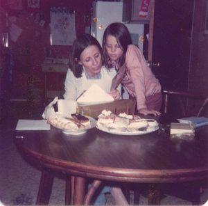 Leigh and mom