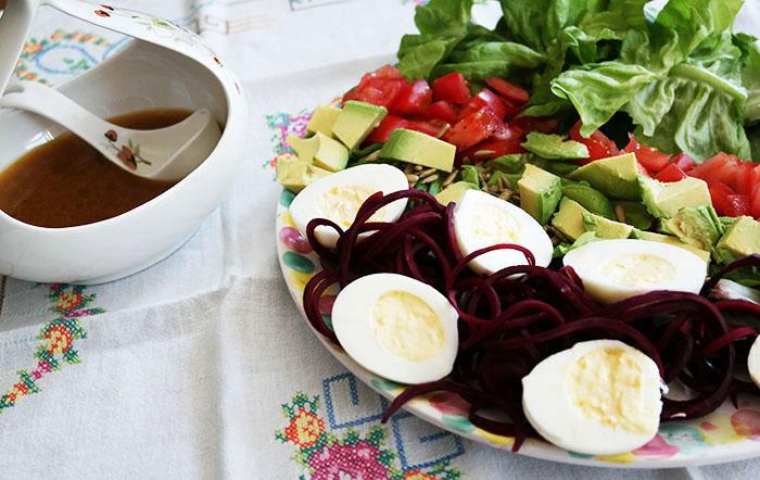 Passover cobb salad