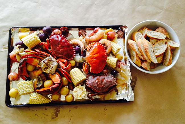 """A """"Christmas"""" dinner and new tradition for Kristin from Nourish SF"""