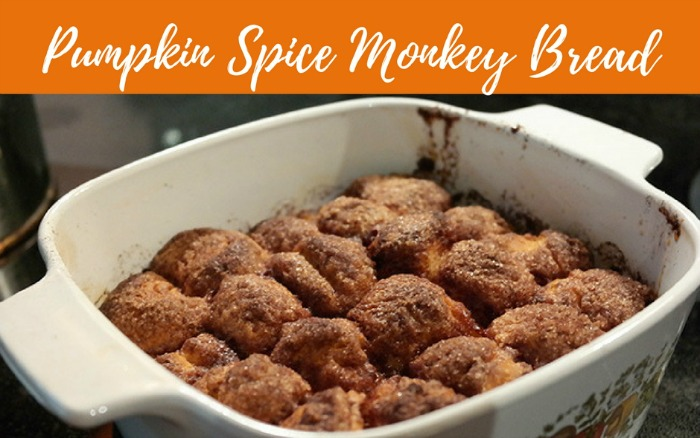 Pumpkin Spice Monkey Bread