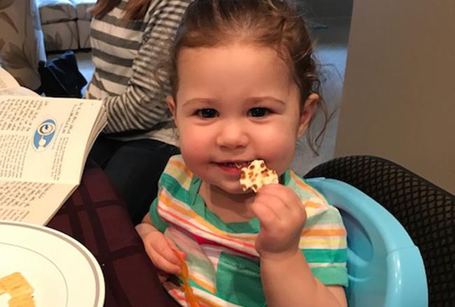 Quinn at Passover