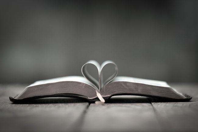 Book, heart