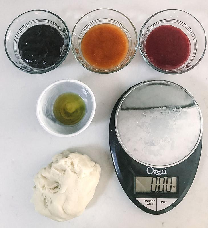 Dough and jams
