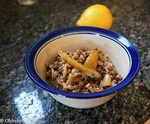 Vermicelli barley pilaf