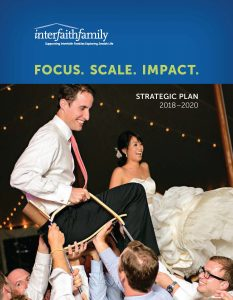 Image of a book cover for the strategic plan.