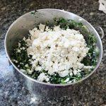 mixed spanikopita ingreditents