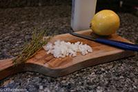 Thyme, onion & lemon