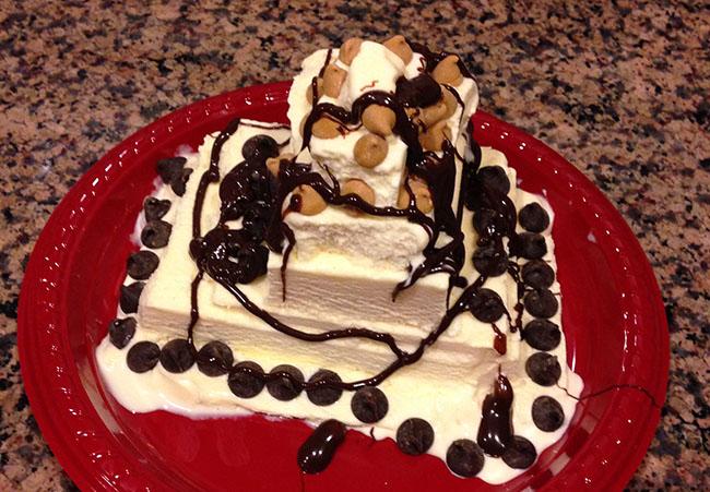 Ice Cream Pyramid