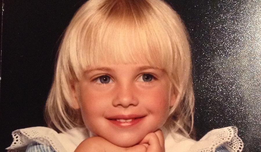 Rabbi Jillian at age 6