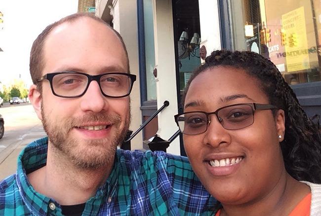 Karl & Sherrita didn't grow up Jewish, but are planning a Jewish wedding