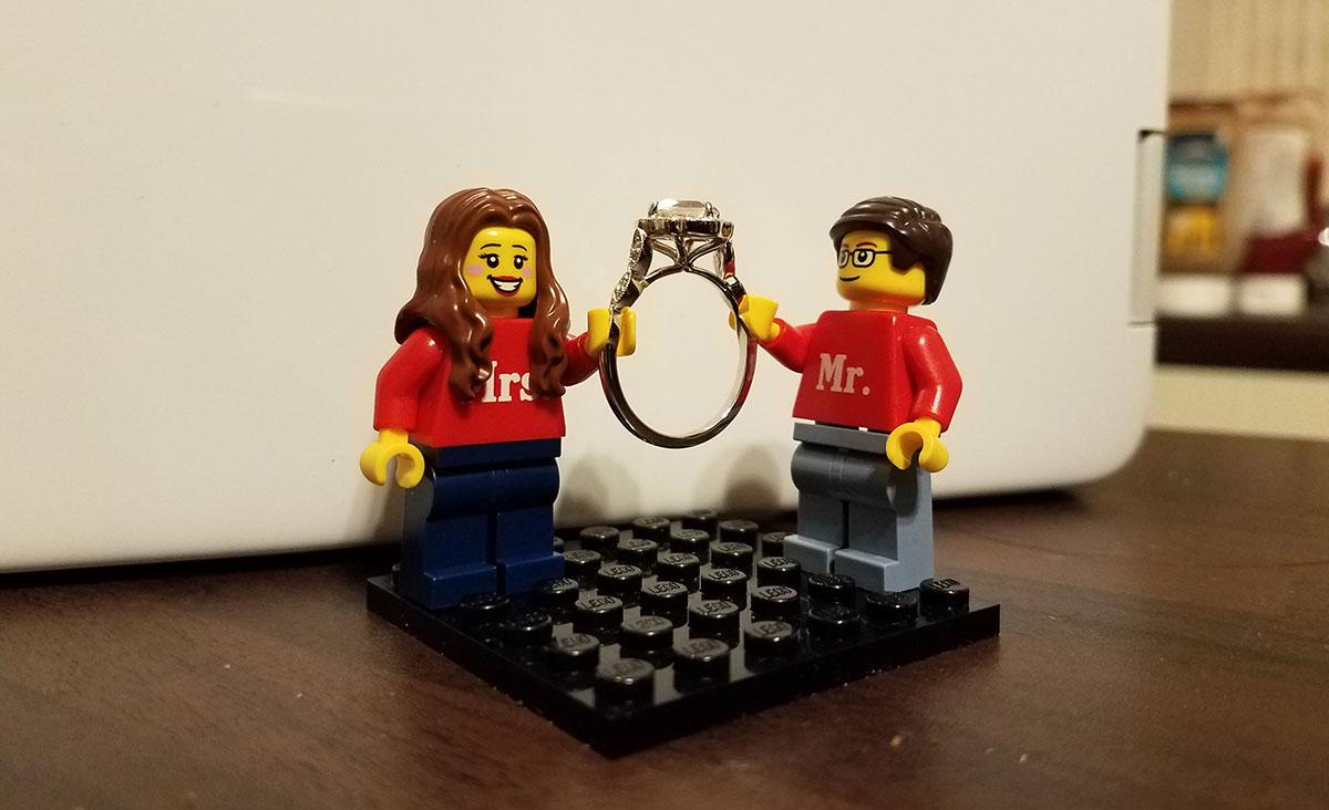 Elle & James' engagement announcement