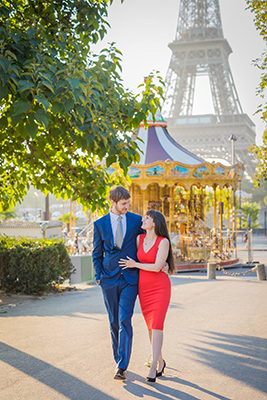 Nataliya and Andy engagement photo