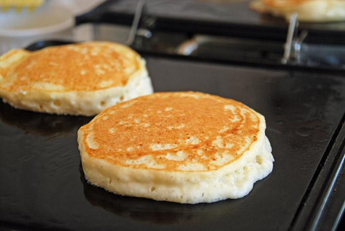 Pancakes for Hanukkah