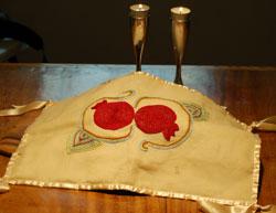 Pomegranate hallah cover