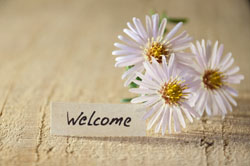 be welcoming