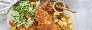 Ethiopian schnitzel