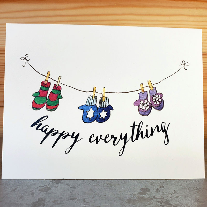 inclusive holiday card