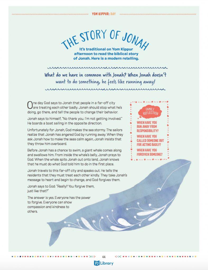 Jonah kids story
