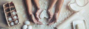 baking a heart