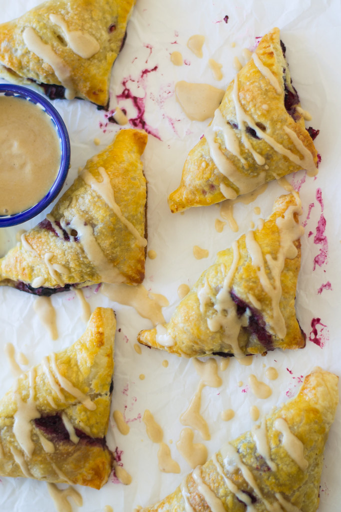 Blueberry and Apple Borekas