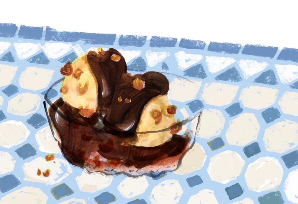 Halvah ice cream