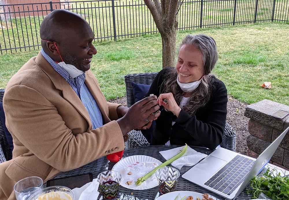 David proposes to Kimberly