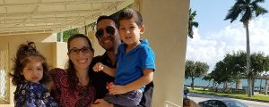 Rorri Geller Mohamed and family