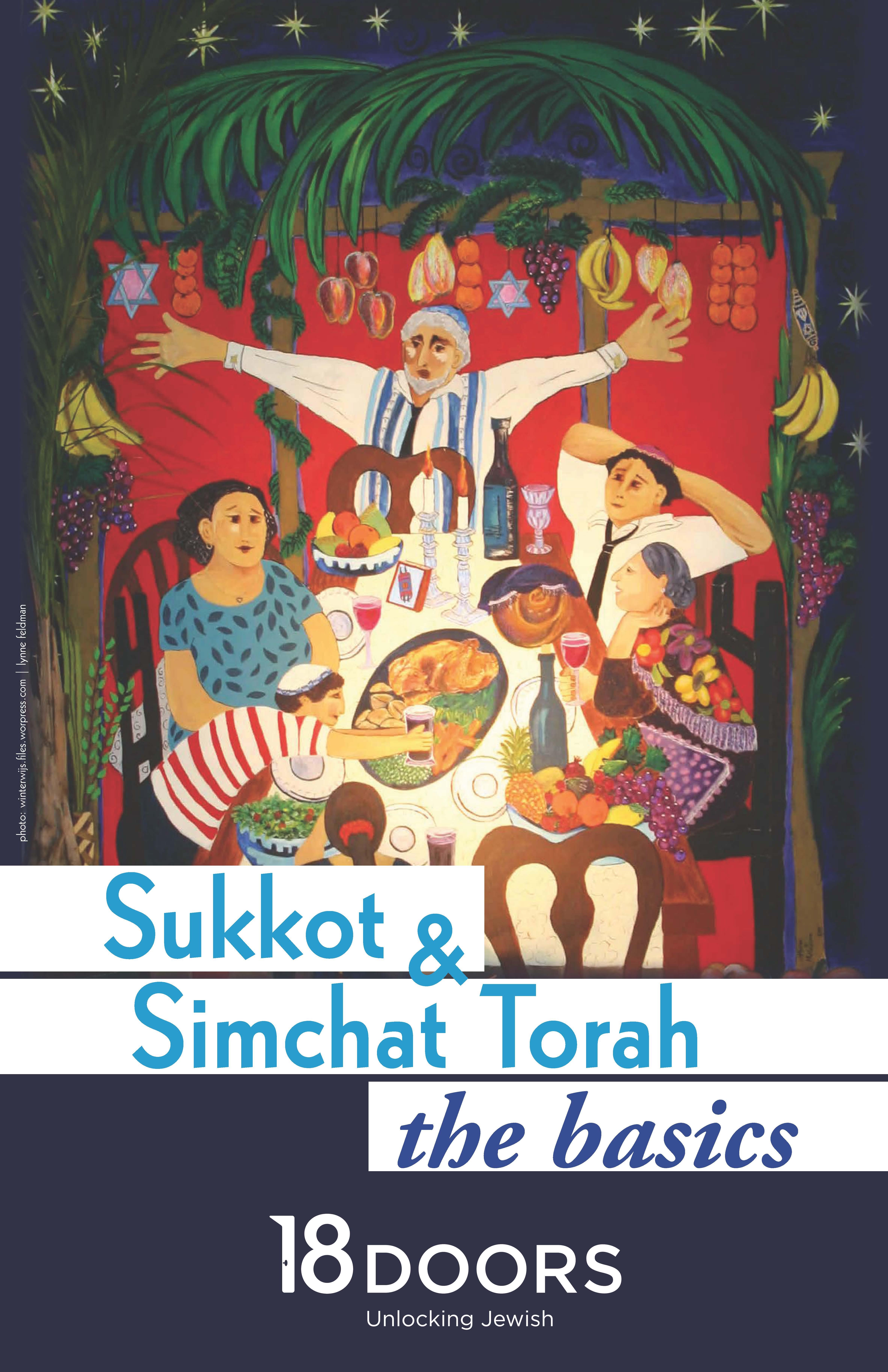Sukkot and Simchat Torah: the Basics