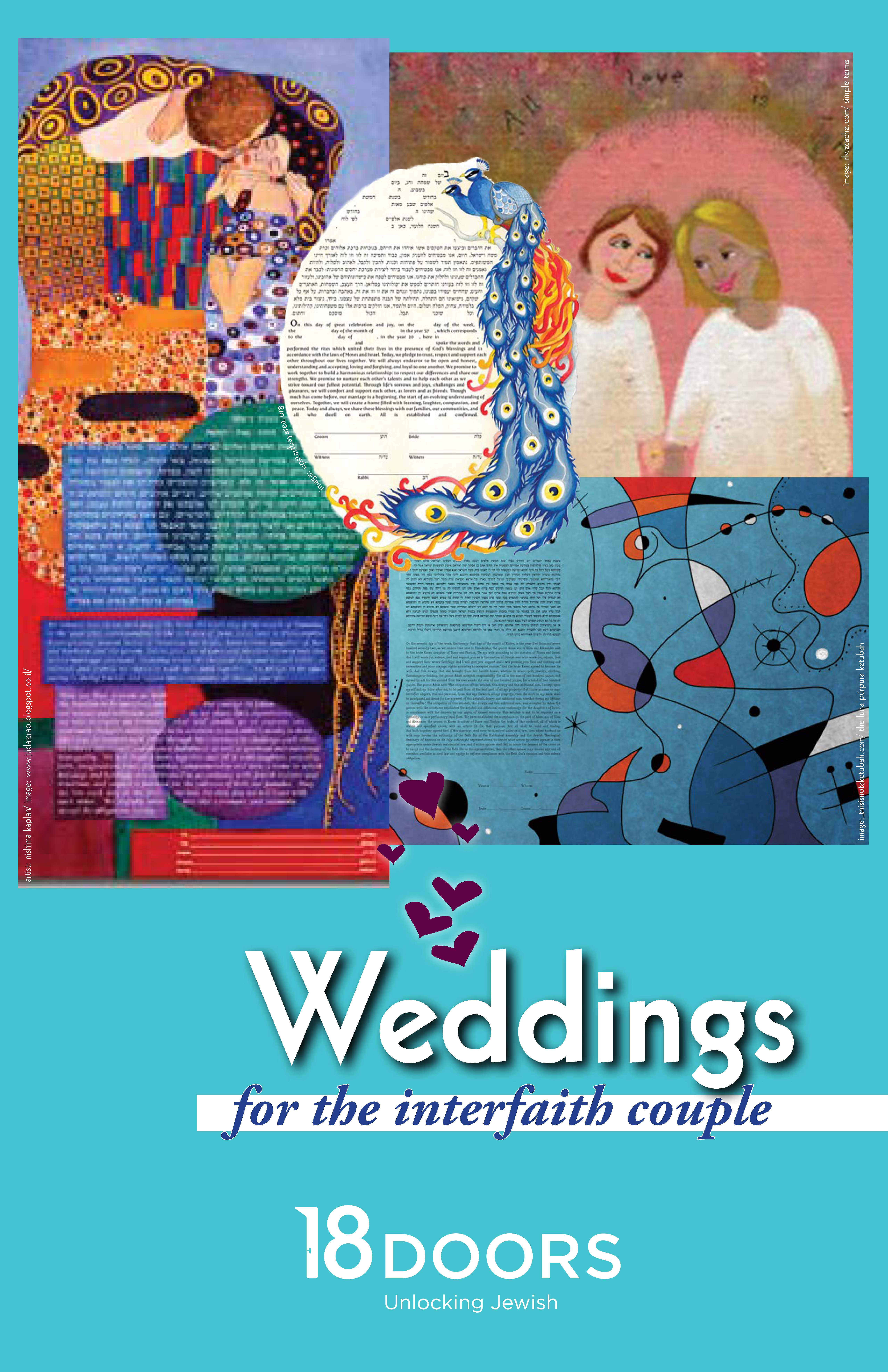 Weddings for the Interfaith Couple booklet